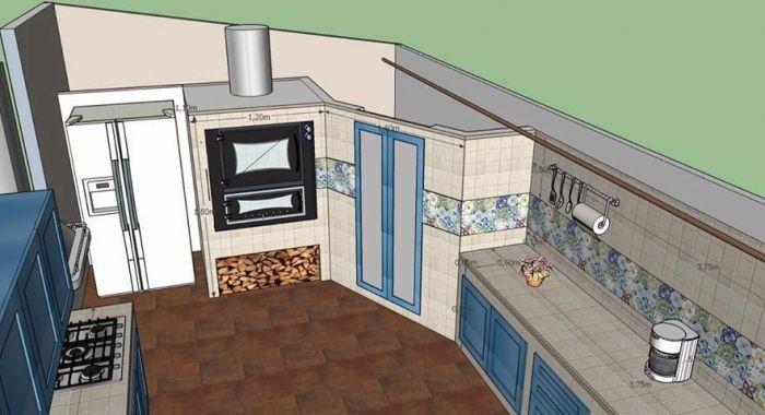 Cucina A Legna Antica In Muratura.Realizziamo Cucine In Muratura A Nicosia E In Provincia Di Enna