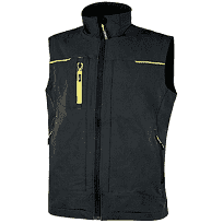 GILET SATURN BLACK CARBON UPOWER