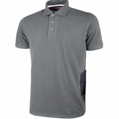 POLO MANICA CORTA GAP GREY METEORY UPOWER