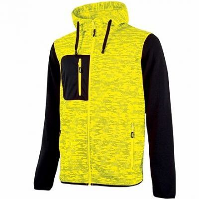 FELPA RAINBOW YELLOW FLUO UPOWER